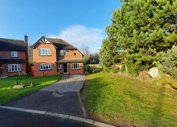 Thumbnail 4 bed detached house for sale in Spires Gardens, Winwick, Warrington