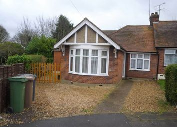 Thumbnail 3 bedroom semi-detached bungalow for sale in Humberstone Close, Luton, Bedfordshire