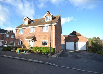 Thumbnail 5 bed detached house for sale in Ravelin Close, Elvetham Heath, Fleet