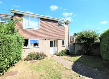 Thumbnail 3 bed end terrace house to rent in Cheriton Close, Tadley