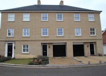 Thumbnail 4 bedroom town house for sale in Griffiths Close, Ipswich