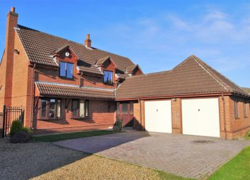 Thumbnail 4 bed detached house for sale in Moss Croft Lane, Doncaster
