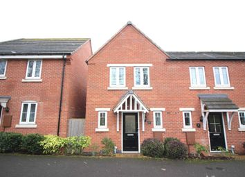 Thumbnail 3 bed town house for sale in Danbury Place, Leicester