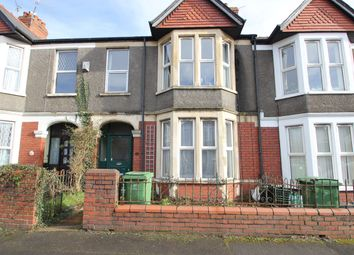 Thumbnail 3 bed terraced house to rent in St Marks Avenue, Cardiff