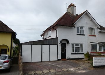 Thumbnail 3 bed semi-detached house for sale in Sid Park Road, Sidmouth