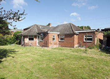 Thumbnail 2 bedroom detached bungalow for sale in Station Road, Leiston