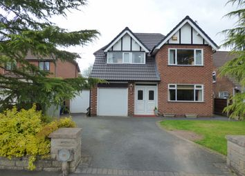 Thumbnail 4 bed detached house for sale in Laneside Drive, Bramhall, Stockport
