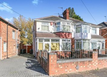 3 bed semi-detached house for sale in Ermington Crescent, Hodge Hill, Birmingham, West Midlands B36