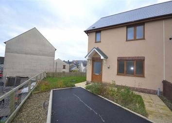 Thumbnail 3 bed end terrace house to rent in Llys Y Brenin, Whitland, Carmarthenshire