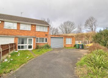 Thumbnail 3 bed semi-detached house for sale in Coneygree Road, Tipton