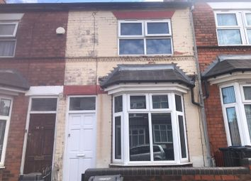 Thumbnail 3 bed terraced house for sale in Ludlow Road, Birmingham