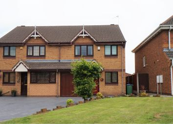 Thumbnail 3 bed semi-detached house for sale in Edward Fisher Drive, Tipton