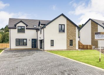 Thumbnail 4 bed detached house for sale in Clyde Grove, Crossford