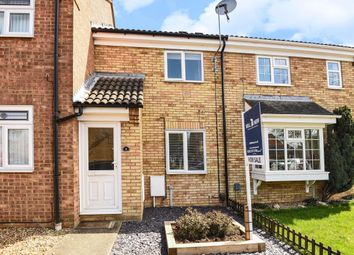 Thumbnail 2 bed terraced house for sale in Chawston Close, St. Neots, Cambridgeshire.