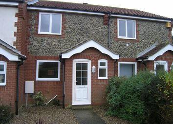Thumbnail 2 bedroom terraced house to rent in Cromer Road, Mundesley