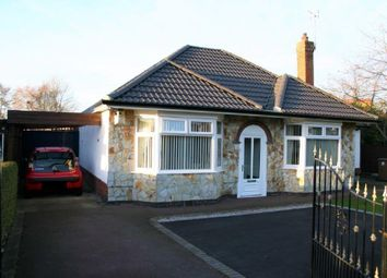 Thumbnail 2 bed detached bungalow for sale in Goodsmoor Road, Littleover, Derby
