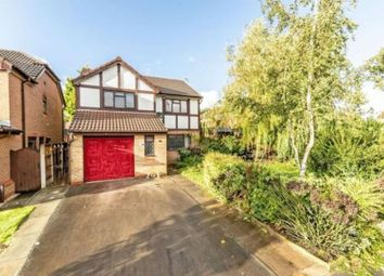 Thumbnail 4 bed detached house for sale in Copperwood Drive, Prescot