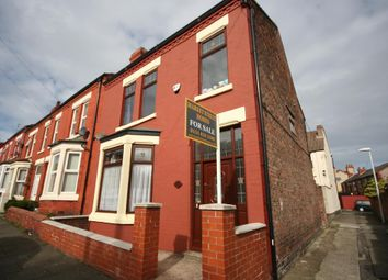 Thumbnail 3 bed terraced house for sale in Ash Grove, Wallasey