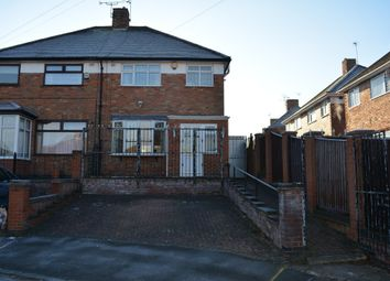 Thumbnail 3 bed semi-detached house for sale in Bryngarth Crescent, Off Uppingham Road, Leicester