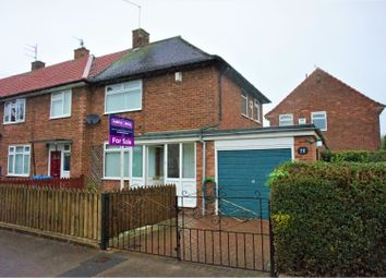 Thumbnail 2 bedroom end terrace house for sale in Wivern Road, Hull