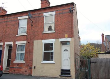 Thumbnail 3 bed end terrace house for sale in Lyndhurst Road, Sneinton