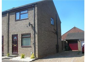 Thumbnail 2 bed semi-detached house to rent in Styles Close, Bradwell, Great Yarmouth