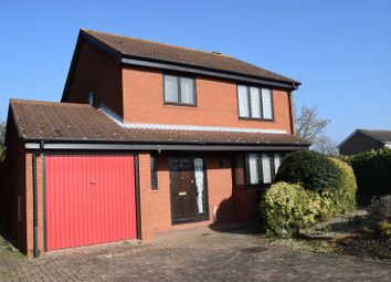 Thumbnail 3 bedroom detached house to rent in Burwell Road, Eaton Ford, St. Neots