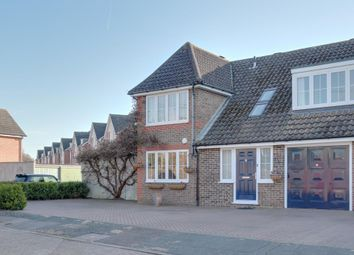 Thumbnail 4 bedroom semi-detached house for sale in Roakes Avenue, Addlestone