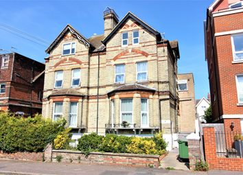 Thumbnail 1 bed flat for sale in Christchurch Road, Folkestone, Kent