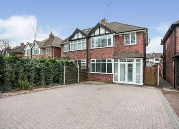 Thumbnail 3 bed semi-detached house for sale in Holyhead Road, Coundon, Coventry, West Midlands