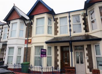 Thumbnail 3 bedroom terraced house for sale in Canada Road, Cardiff