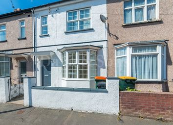 Thumbnail 3 bedroom terraced house for sale in Wyevern Road, Newport, Gwent .