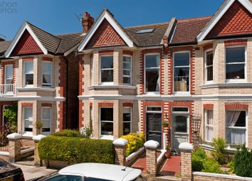Thumbnail 4 bed semi-detached house for sale in Worcester Villas, Hove
