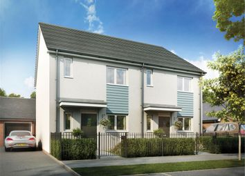 Thumbnail 3 bed semi-detached house for sale in Plot 222 The Mirin, Glan Llyn, Newport