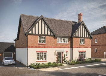 "Thumbnail 5 bed property for sale in ""The Churchill"" at Main Street, East Challow, Wantage"