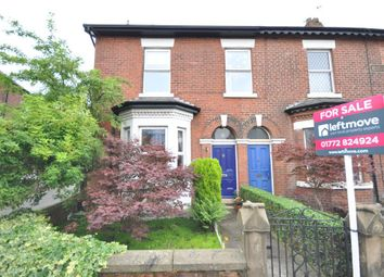 Thumbnail 4 bedroom end terrace house for sale in Lytham Road, Fulwood, Preston, Lancashire