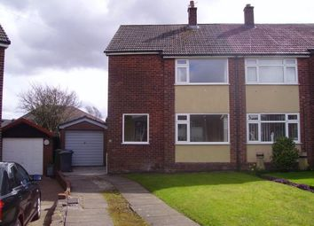 Thumbnail 3 bedroom semi-detached house to rent in Cranford Close, Whitefield, Manchester
