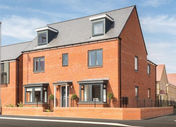 "Thumbnail 5 bedroom detached house for sale in ""Stratford"" at Pedersen Way, Northstowe, Cambridge"