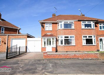 Thumbnail 3 bed semi-detached house for sale in Brockenhurst Drive, Leicester