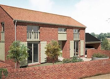 Thumbnail 3 bed link-detached house for sale in Abbey Road, Leiston