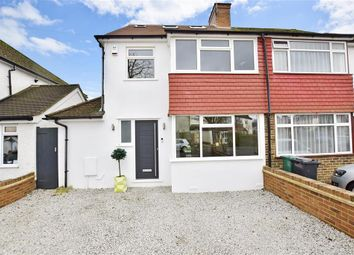 Thumbnail 4 bed semi-detached house for sale in Hartswood Avenue, Reigate, Surrey
