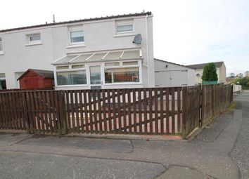Thumbnail 3 bed end terrace house for sale in Carbarns East, Wishaw
