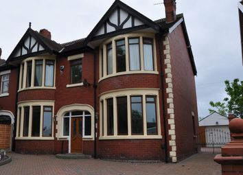 Thumbnail 4 bed semi-detached house for sale in Whitegate Drive, Blackpool