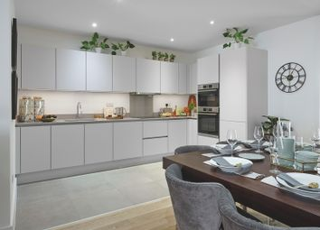 Thumbnail 2 bedroom flat for sale in Greenwich Millennium Village, The Village Square, West Parkside, Greenwich