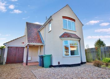 Thumbnail 3 bed detached house for sale in Eversley Road, Hellesdon, Norwich