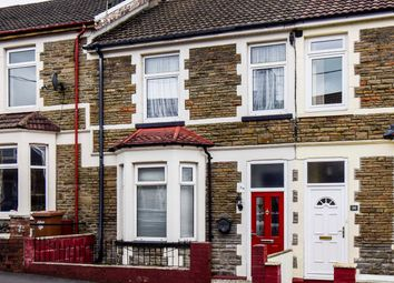 Thumbnail 4 bed terraced house for sale in Ludlow Street, Caerphilly