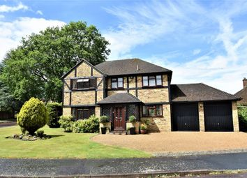 Thumbnail 4 bed detached house for sale in Hawkes Leap, Windlesham, Surrey