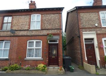 Thumbnail 2 bed end terrace house for sale in Eaton Road, Sale, Greater Manchester
