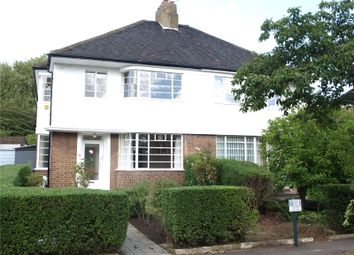 Thumbnail 3 bedroom semi-detached house to rent in Brim Hill, East Finchley
