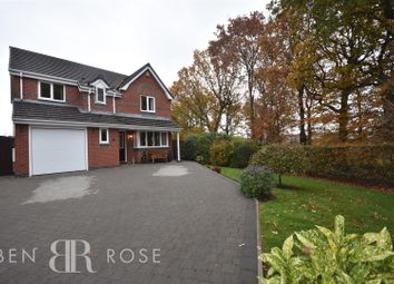 Thumbnail 4 bed detached house for sale in The Bowers, Chorley